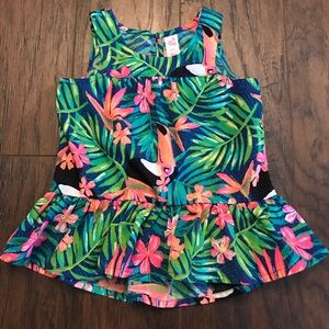 Cherokee Girls 24 Months Toucan Island Dress